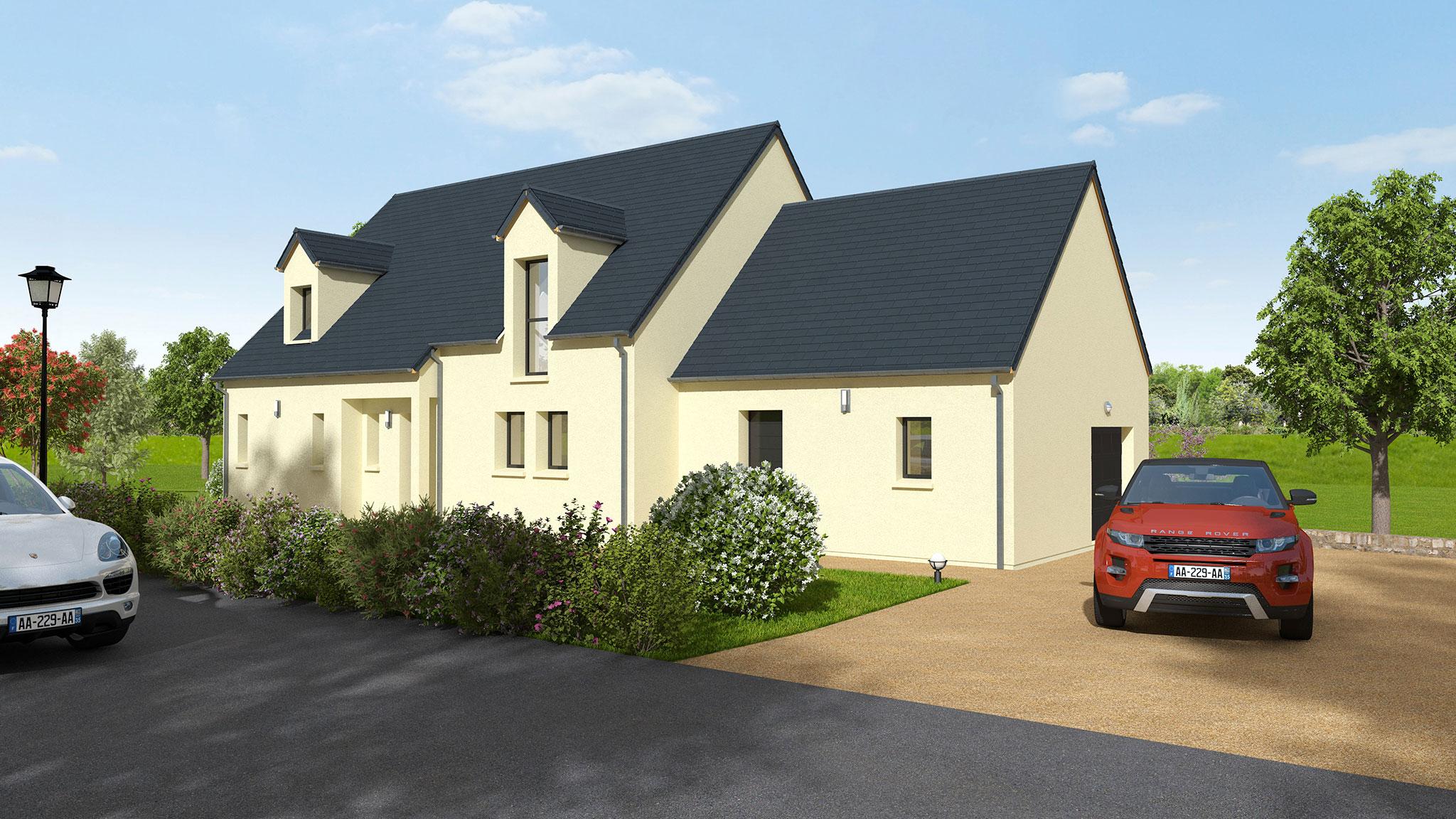 Construction d 39 une maison traditionnelle amboise dmo constructions - Descriptif construction maison individuelle ...